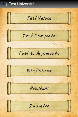 Test Università (gratis) - screenshot