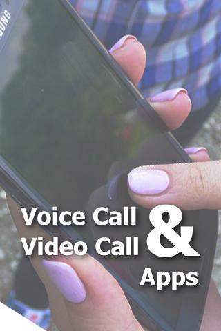 語音通話視頻通話應用程序