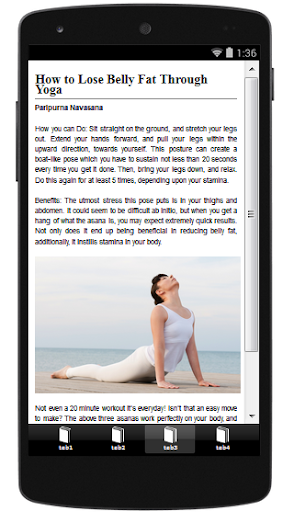 【免費健康App】Yoga For Belly Fat-APP點子