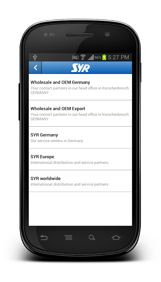 SYR- screenshot