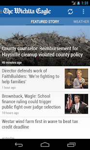 The Wichita Eagle & Kansas.com - screenshot thumbnail