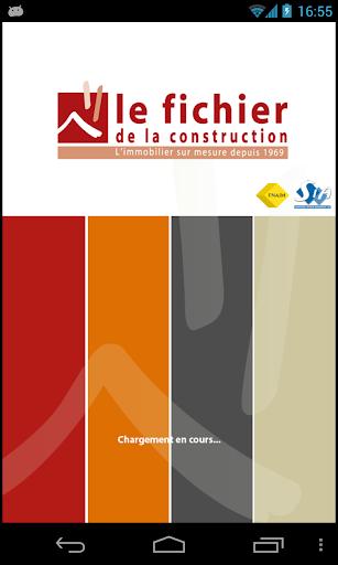 Le fichier de la construction