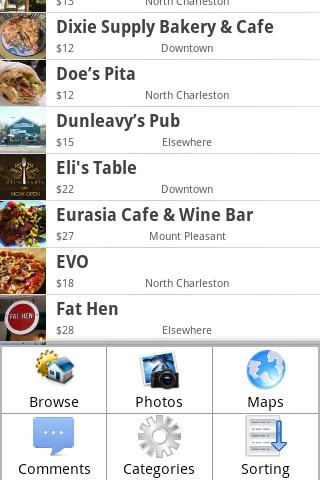 Charleston For Foodies - screenshot