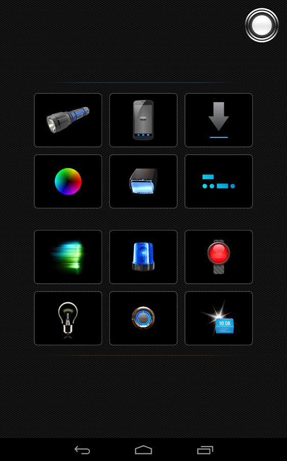 Tiny Flashlight + LED - screenshot