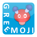 GREE絵文字入力補助 logo