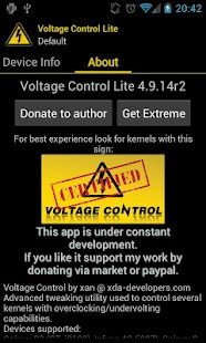 Voltage Control- screenshot thumbnail