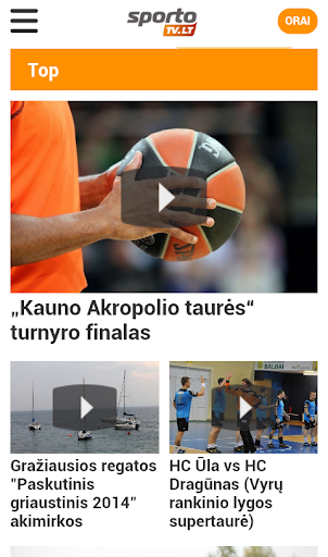 SportoTV sporto transliacijos