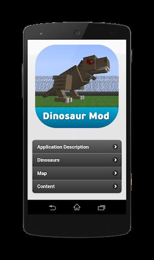 Mod Dinosaurs for minecraft