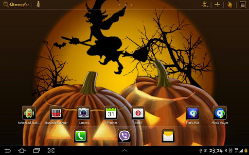 Halloween 2 GO Launcher HD Pad