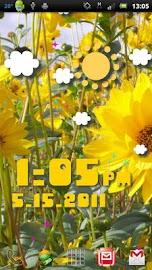 Weather Flow ! Live Wallpaper Screenshot 8