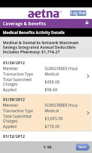 Aetna Mobile - screenshot thumbnail