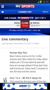 Sky Sports Live Cricket SC - screenshot thumbnail