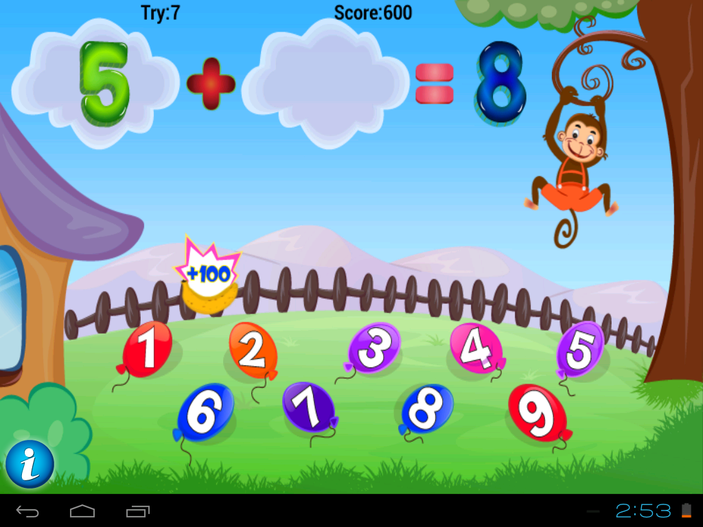 Math Addition Game for Kids - screenshot