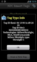 Screenshot of NFC Smart Tags
