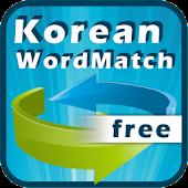 Free Korean English Word Match