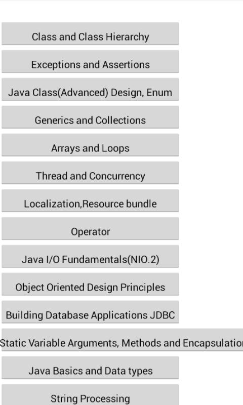 Java Fresher's Success Secret - screenshot