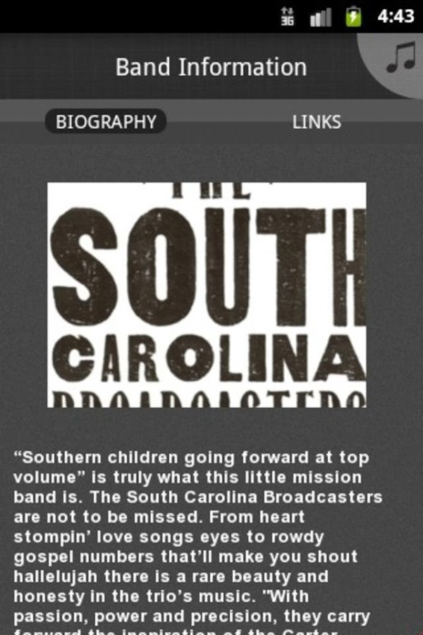 South Carolina Broadcasters - screenshot