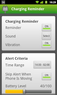 Charging Reminder- screenshot thumbnail