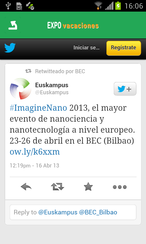 Expovacaciones- screenshot
