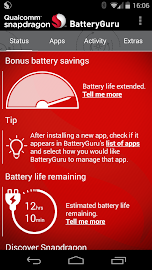 Snapdragon™ BatteryGuru Screenshot 1