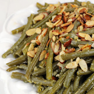 Parmesan Garlic Green Bean Almondine