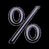 Percent discounts calculator