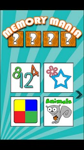 Kids Game: Memory Mania lite - screenshot thumbnail