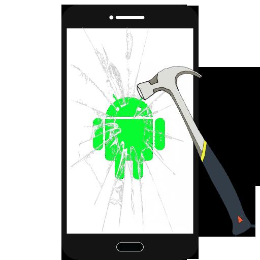 壊れた画面/ひびが入ったの悪ふざけ 娛樂 App LOGO-硬是要APP