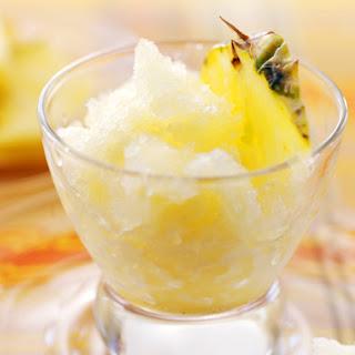 Pineapple Granita