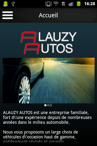 Alauzy Autos - screenshot