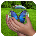 Bubble Nature Kids Game Free icon