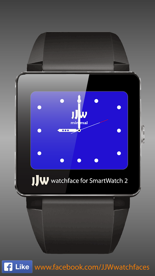 JJW Minimal Watchface 7 SW2- screenshot