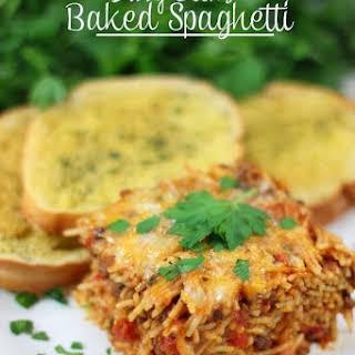 Bobby Deen's Baked Spaghetti.