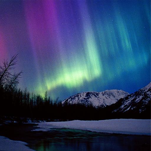 3D Aurora Northern Lights
