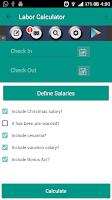 Screenshot of Dominican Labor Calculator