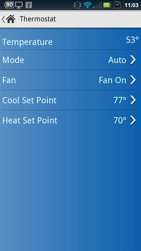 INSTEON for SmartLinc - screenshot