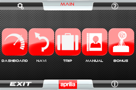Aprilia Multimedia Platform- screenshot thumbnail