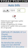 Screenshot of Auto Info