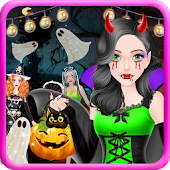 Trò chơi công chúa halloween Mod
