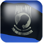 POW/MIA Flag Live Wallpaper +
