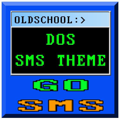 Windows DOS Go SMS Theme 2014 LOGO-APP點子