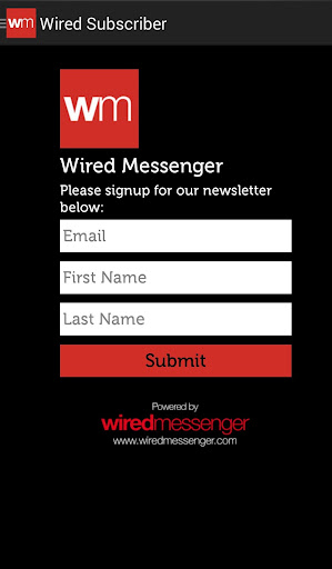 Wired Email Subscriber