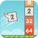Flappy 2048 - Endless Combat icon