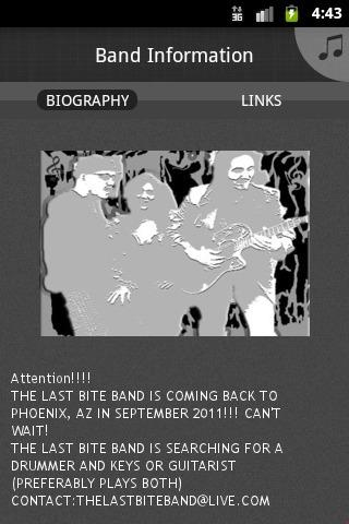 The Last Bite Band - screenshot