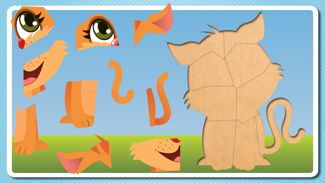 Puzzle For Toddlers - Kids Game 1, 2, 3 years old- screenshot