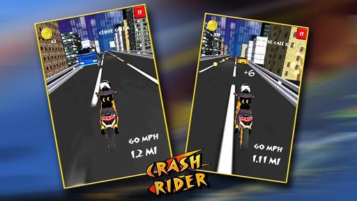 無料赛车游戏Appのクラッシュライダー:3Dモト自転車レース|記事Game