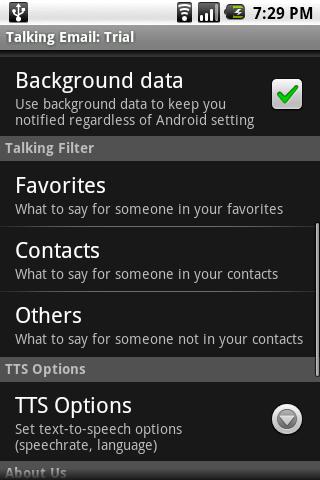Talking Email screenshot #2