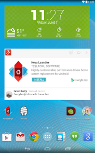 Nova Launcher - screenshot thumbnail