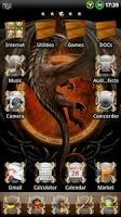 Screenshot of Dragon GO Launcher EX Theme
