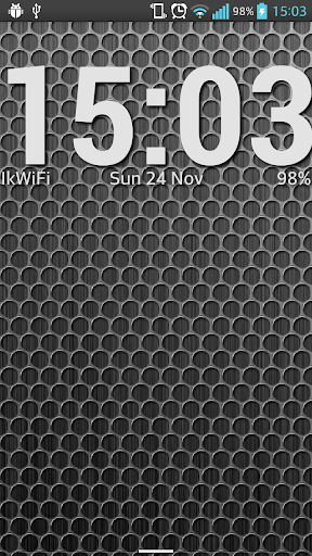 玩免費個人化APP|下載Simple Clock Live Wallpaper app不用錢|硬是要APP